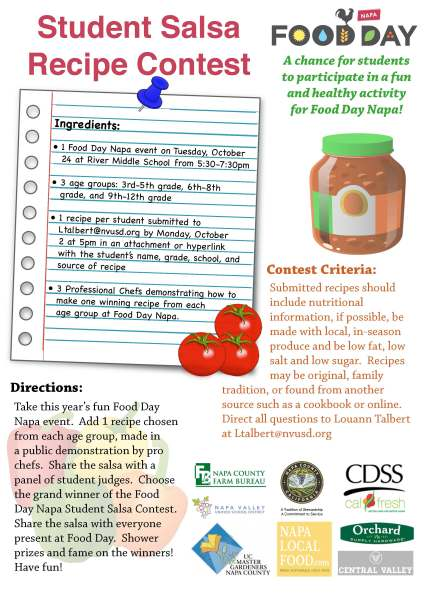 food day salsa contest flyer 2